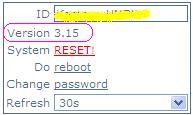 Upgrade versi Mikrotik 3.15