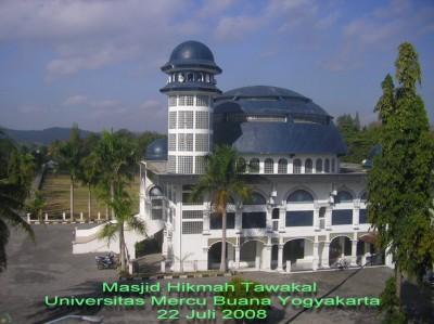 Masjid Hikmah Tawakal - Kampus Mercu Buana Yogya