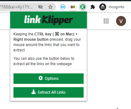 Link Klipper Extensi Chrome
