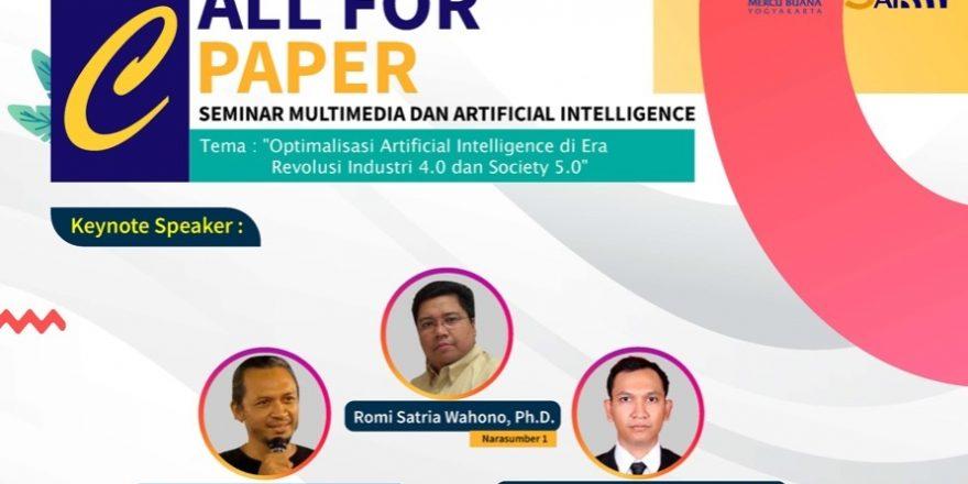 Optimalisasi Artificial Intelligence di Era Revolusi Industri 4.0 dan Society 5.0